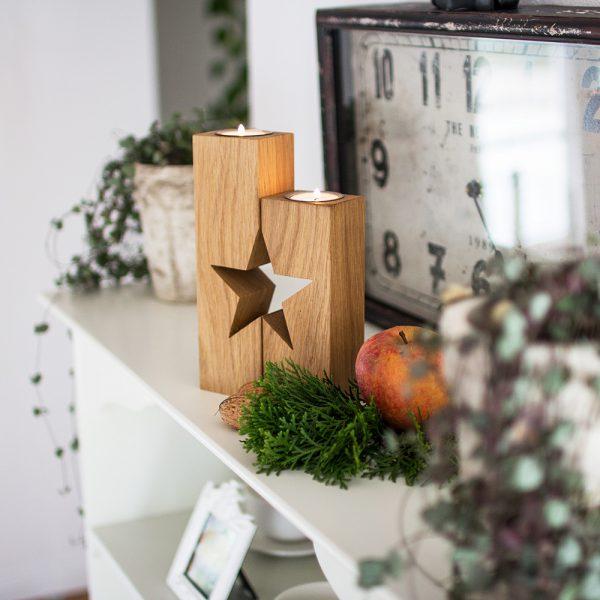 Holzdeko die ideale Geschenkidee in der Vorweihnachtszeit