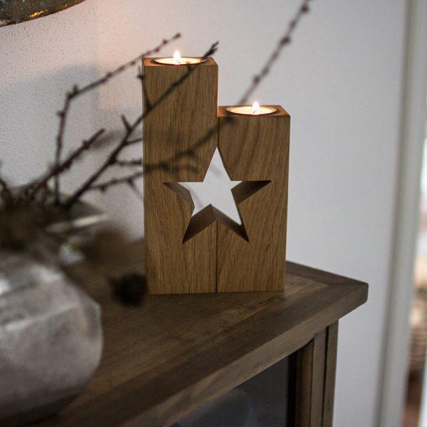 Holzdeko bringt Gemütlichkeit in deinen Raum