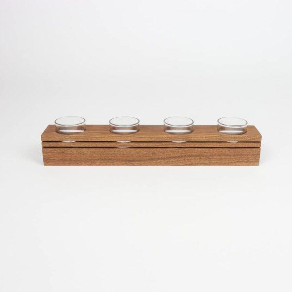 Teelichthalter als Geschenk - Holzgeschenke Holzdeko