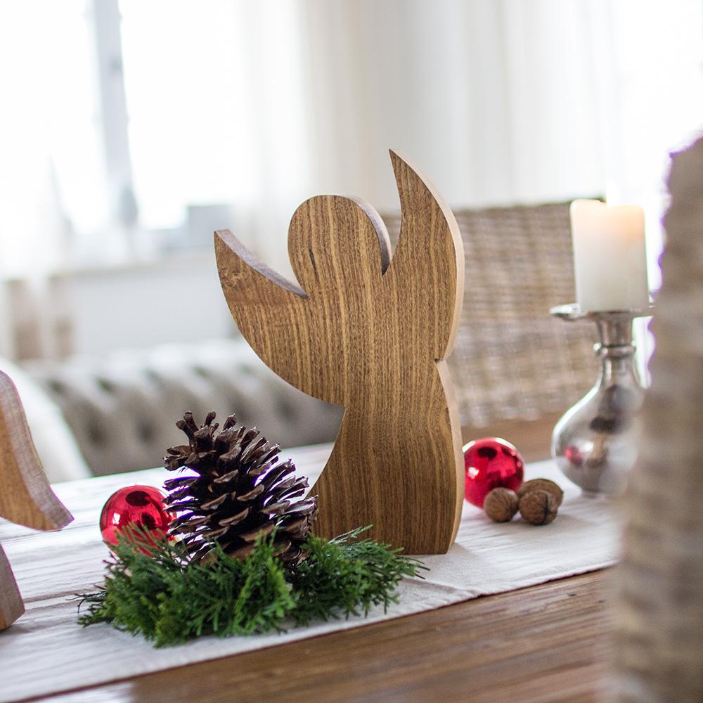 Holzengel - Weihnachtsdeko aus Holz made in Niederbayern