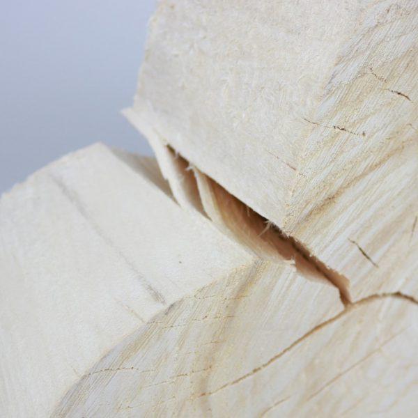 Herz aus Baumscheibe Holzdekoration