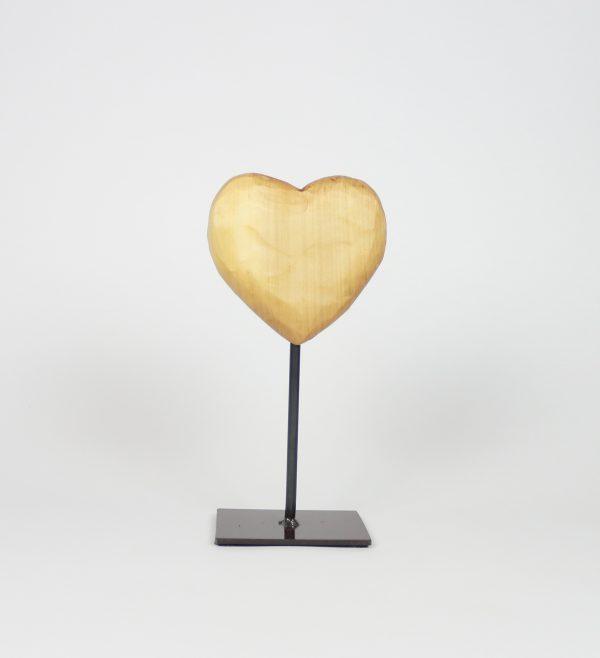 Herzdeko Design Trenddeko Herz auf Metallstaender