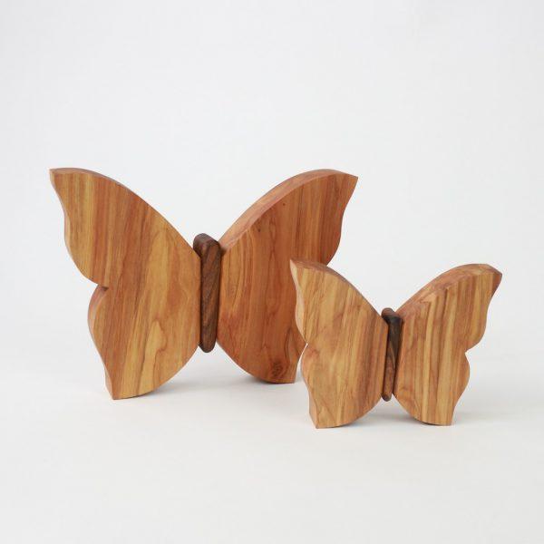 Deko aus Holz Schmetterling