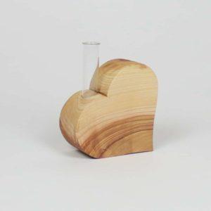 Herz mit Reagenzglas extra dick - Hoteldeko