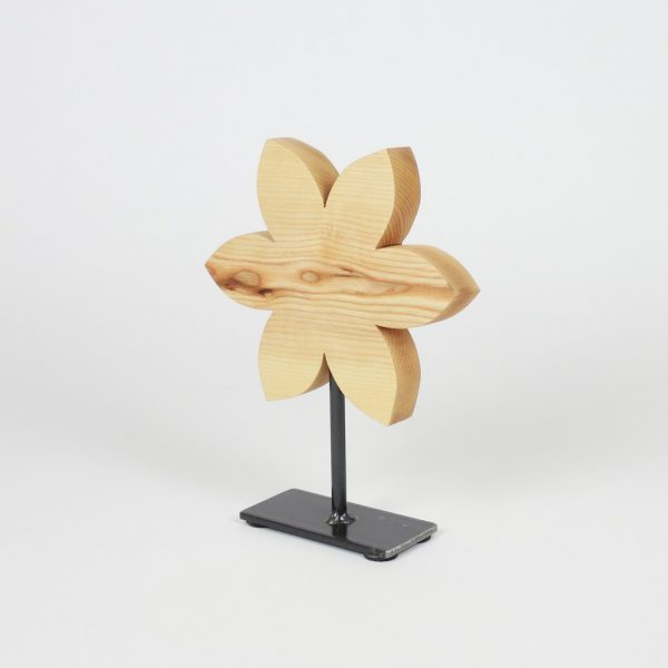 Frühlingsdeko aus Holz Blume aus Holz