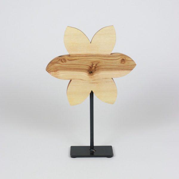 frühlingsdeko, Holzblumendekoration