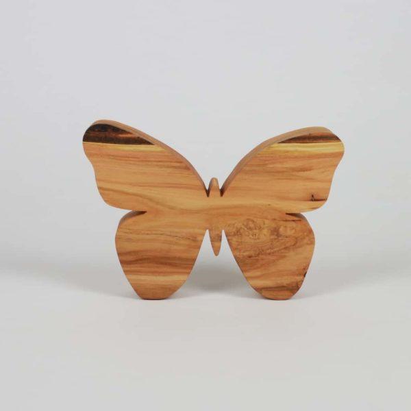 Unikat Schmetterling aus Kirschbaumholz - besondere Geschenke aus Holz