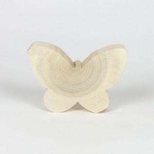 Schmetterling Frühlingsdeko Massivholz