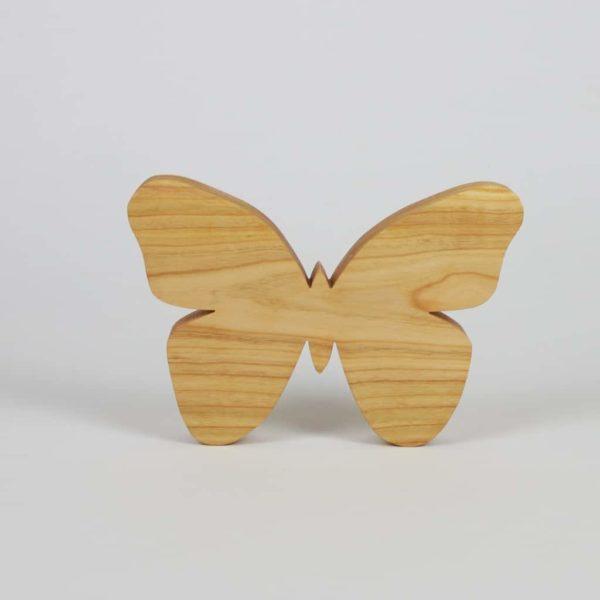 Schmetterling aus Kirschbaumholz