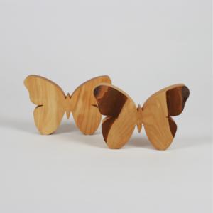 Hoteldekoration aus Holz gefertigt