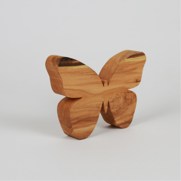 Schmetterling aus Holz zum Dekorieren