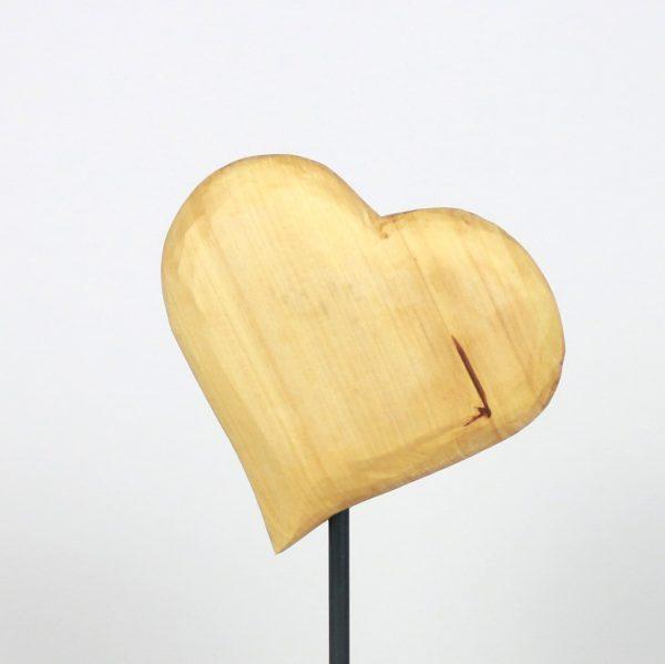 Holzdesign Handgemachte Holzherzen