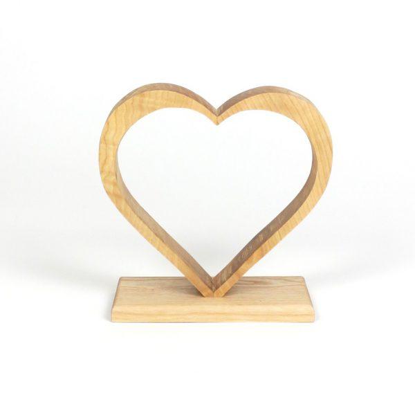 Herzdeko Herzaufsteller Rahmenherz
