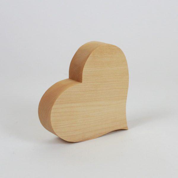 Hochzeitsdekoration Herz aus Holz