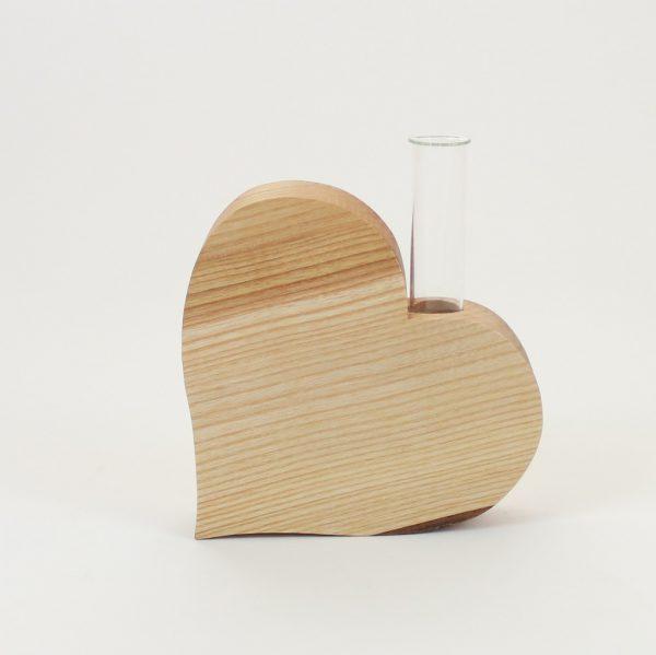Herzdeko Vase