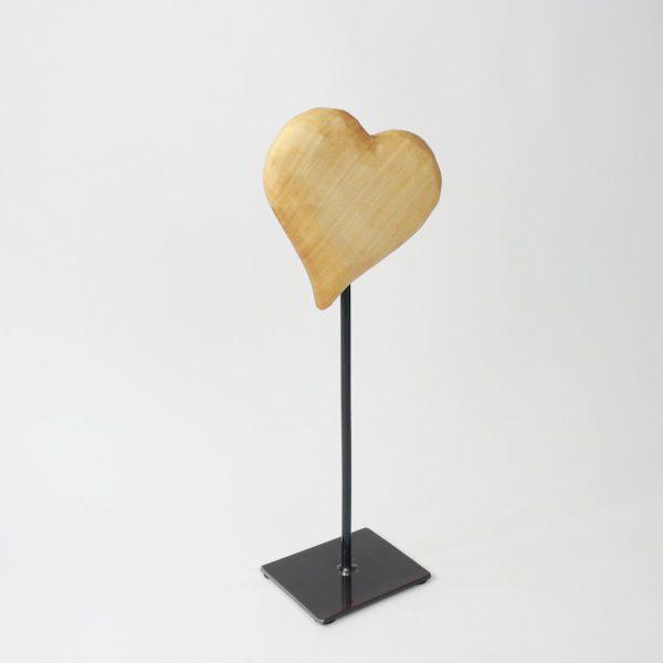 Herz auf Fuss Hoteldekoration