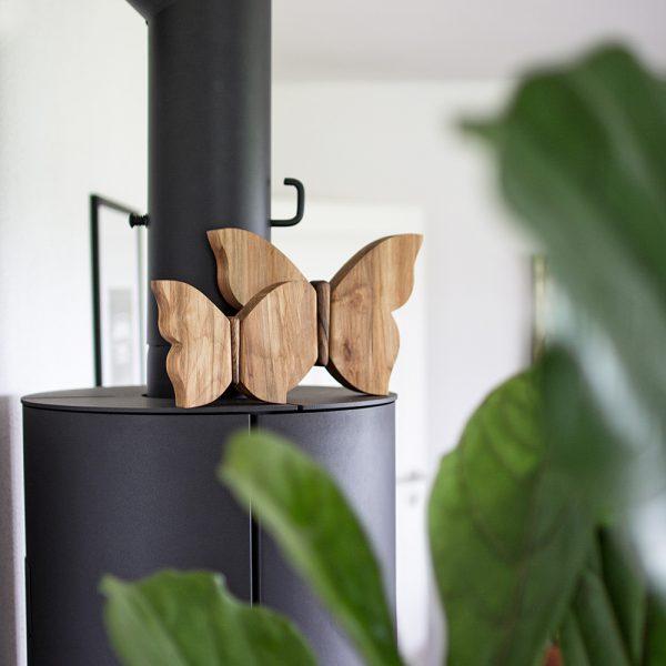 Holzschmetterling - viel Freude mit Geschenken aus Holz