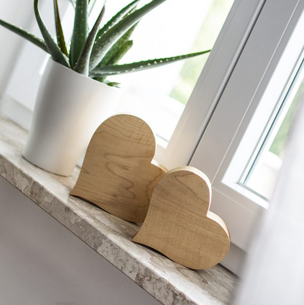 wunderschöne Holzherzen zum Verschenken oder Dekorieren