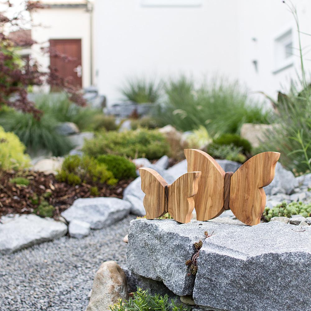 Schmetterling - schöne Deko für den Garten