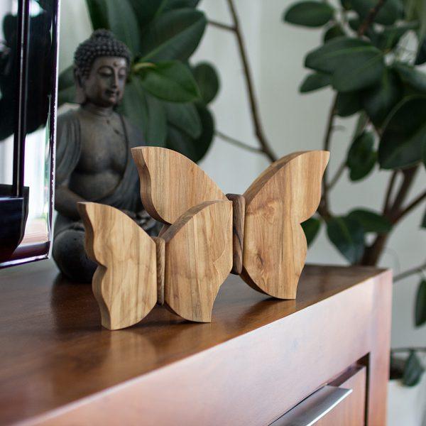 Holzschmetterling - Geschenkidee aus Holz