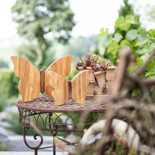 Holzschmetterling die perfekte Geschenkidee aus Holz
