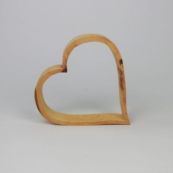 Baumscheibendeko Herz