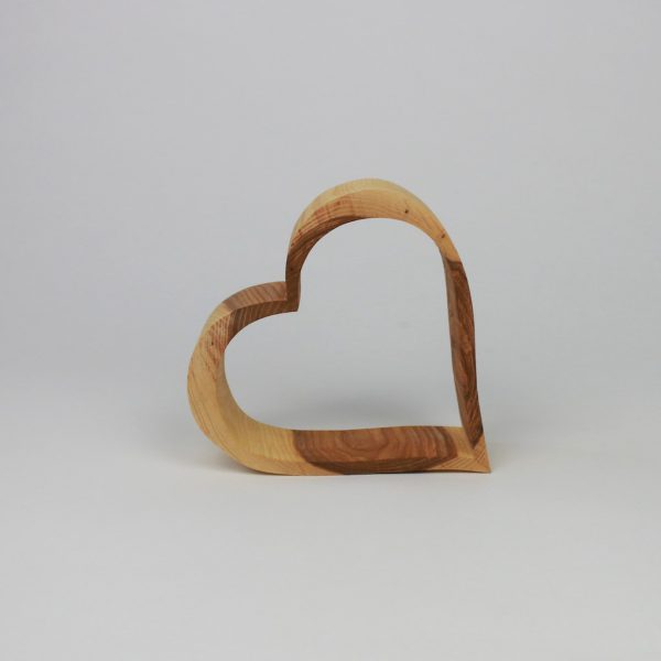 Herz aus Holz - die perfekte Geschenkidee