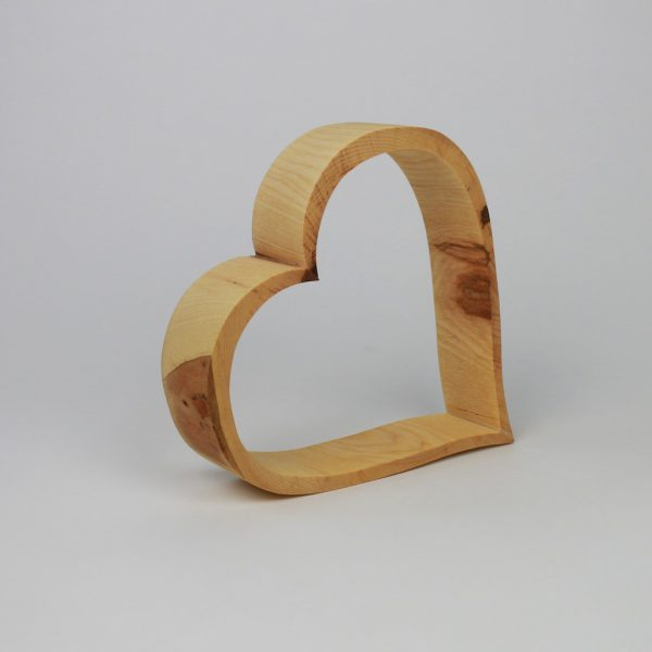 Holzdekoration Herz