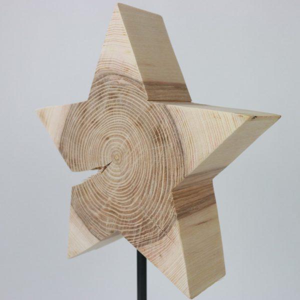 trendige Weihnachtsdeko aus Holz
