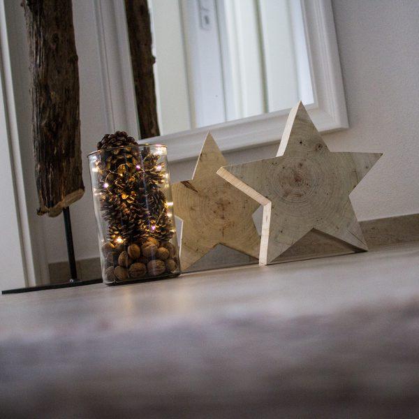 Weihnachtszeit - Sternenzeit - ideal zum dekorieren vor dem Haus