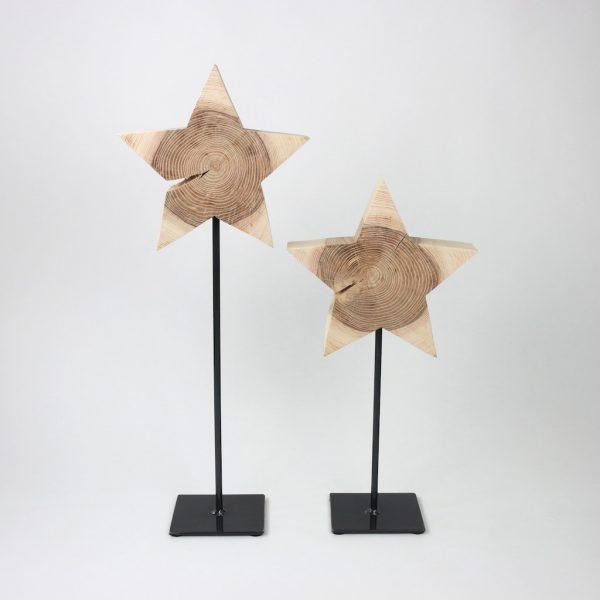 Deko aus Holz für Weihnachten