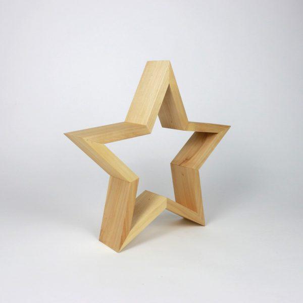 Holzsterne - die perfekte Weihnachtsdeko