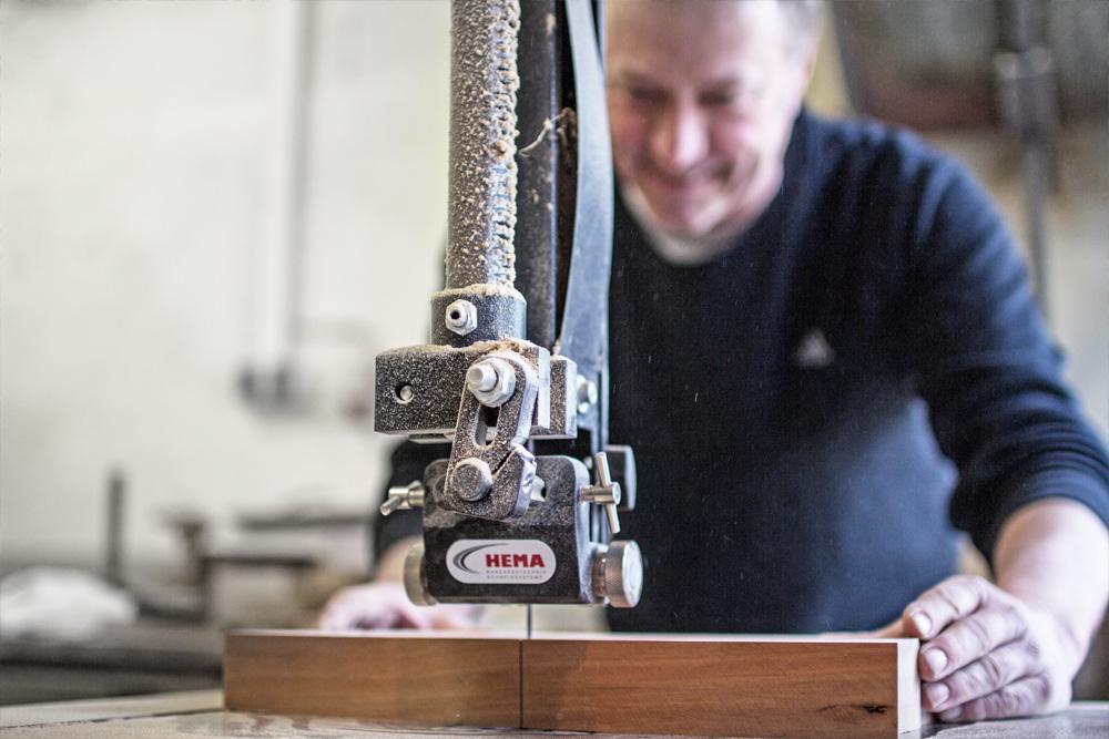 Holzdeko Stern Handgemacht