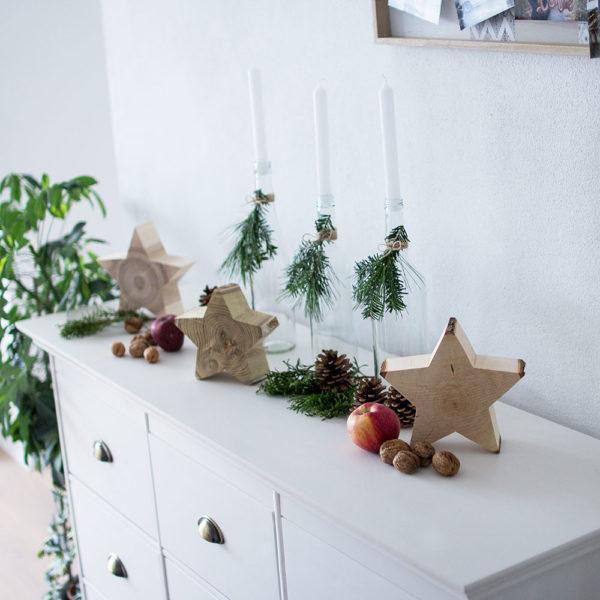 Sterne aus Holz - Geschenke aus Holz Sterne