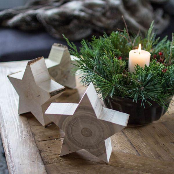 Holzdeko - ideal als Deko für Weihnachten