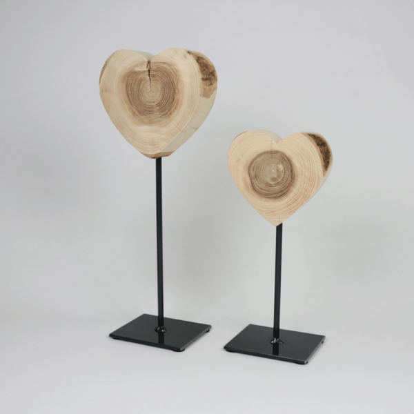 Geschenkidee Herz aus Holz