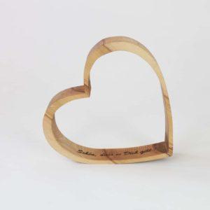 Geschenke aus Holz mit Wunschgravur