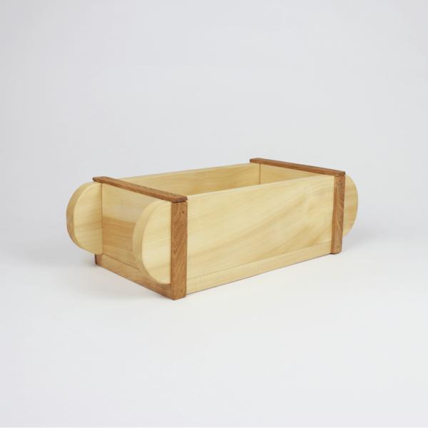 Kiste aus Holz zum Dekorieren