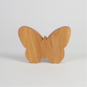 Holzschmetterling als Ostergeschenk