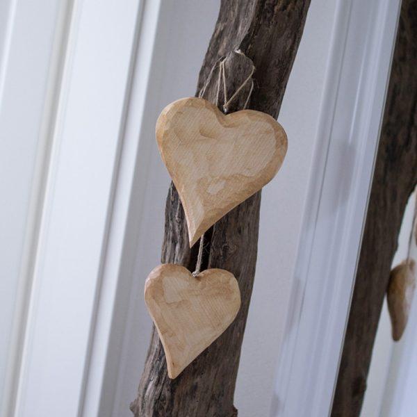 Geschenke aus Holz Herz