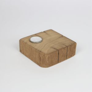 Tischedeko aus Altholz - ideal als Hoteldeko