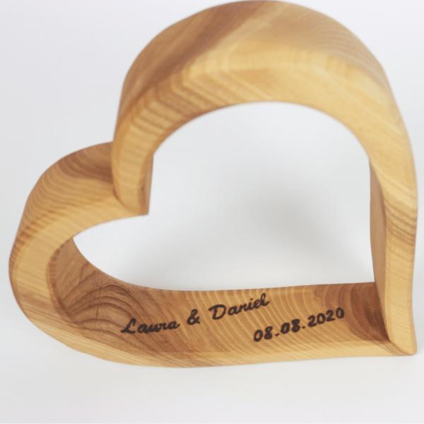 personalisiertes Geschenk zur Hochzeit