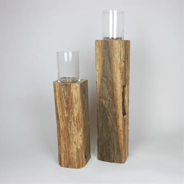 Holzdeko Altholz - Deko aus Altholzbalken